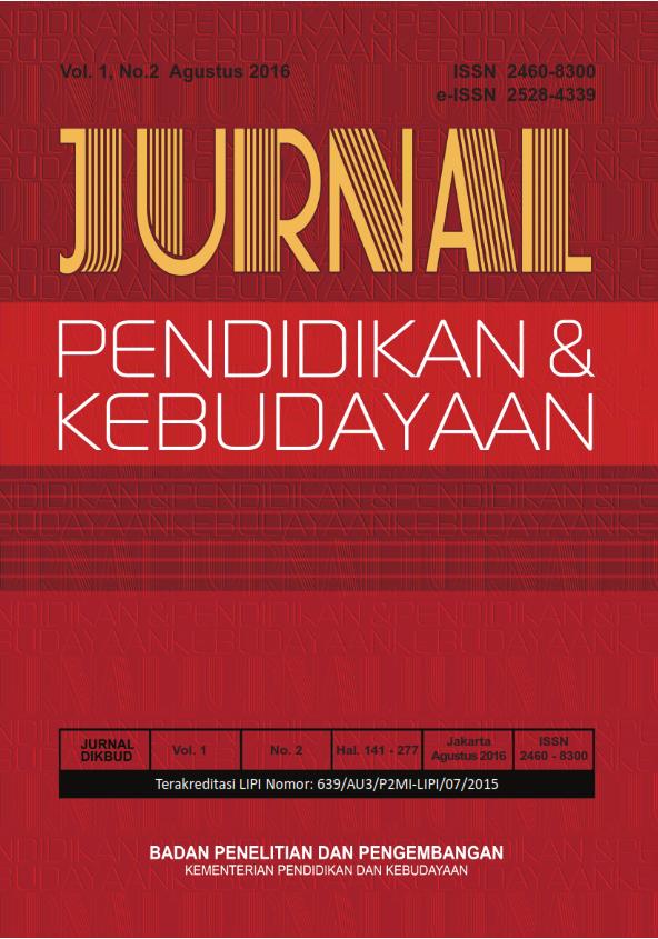 Jurnal Pendidikan Dan Kebudayaan